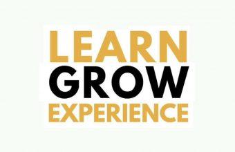 learn, grow, experience